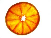 πορτοκαλιά φέτα Στοκ φωτογραφία με δικαίωμα ελεύθερης χρήσης