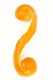 πορτοκαλιά φλούδα Στοκ Εικόνες