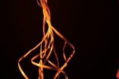 Πορτοκαλιά φωτογραφία κορδελλών στοκ φωτογραφία με δικαίωμα ελεύθερης χρήσης