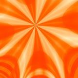 πορτοκαλιές ακτίνες Στοκ φωτογραφία με δικαίωμα ελεύθερης χρήσης