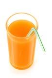 πορτοκαλιές φέτες χυμού Στοκ Εικόνα