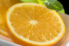 πορτοκαλιές φέτες Στοκ φωτογραφία με δικαίωμα ελεύθερης χρήσης