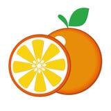 Πορτοκαλής καρπός Στοκ Εικόνες