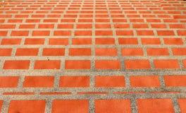 Πορτοκαλής-κεραμωμένη σκάλα Στοκ Εικόνα