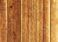 Πορτοκαλής παλαιός ξύλινος τοίχος Στοκ Εικόνες