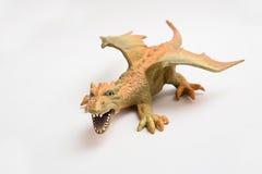 Πορτοκαλής δράκος παιχνιδιών Στοκ Εικόνες