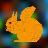 πορτοκαλής σκίουρος Στοκ Εικόνες