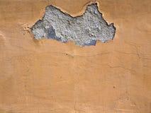 Πορτοκαλής τοίχος τσιμέντου σύστασης υποβάθρου Στοκ εικόνες με δικαίωμα ελεύθερης χρήσης