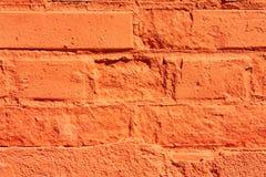 πορτοκαλής τοίχος Στοκ Εικόνες