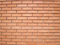 Πορτοκαλής τουβλότοιχος Στοκ εικόνα με δικαίωμα ελεύθερης χρήσης