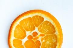 Πορτοκαλής υβριδικός πορτοκαλής juicy στον τεμαχισμό Στοκ Εικόνες