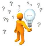 Ιδέα ερωτήσεων απεικόνιση αποθεμάτων