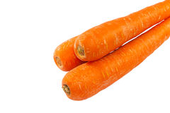 Πορτοκαλί λαχανικό καρότων ομάδας στο άσπρο υπόβαθρο Στοκ φωτογραφία με δικαίωμα ελεύθερης χρήσης