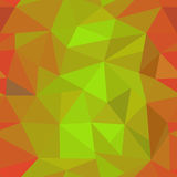 Πορτοκαλί γεωμετρικό σχέδιο Στοκ Φωτογραφία
