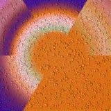 Πορτοκαλί εκλεκτής ποιότητας υπόβαθρο με τις φυσαλίδες στοκ φωτογραφίες με δικαίωμα ελεύθερης χρήσης