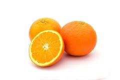 πορτοκαλί λευκό καρπού Στοκ εικόνες με δικαίωμα ελεύθερης χρήσης