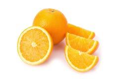 πορτοκαλί λευκό καρπού Στοκ φωτογραφία με δικαίωμα ελεύθερης χρήσης