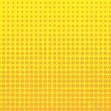 Πορτοκαλί ημίτονο υπόβαθρο κύκλων, ημίτονο σχέδιο σημείων Στοκ εικόνα με δικαίωμα ελεύθερης χρήσης