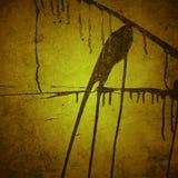πορτοκαλί διάνυσμα απεικόνισης ανασκόπησης grunge Στοκ φωτογραφία με δικαίωμα ελεύθερης χρήσης