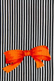 πορτοκαλί διάνυσμα κορδελλών απεικόνισης τόξων Στοκ Εικόνες
