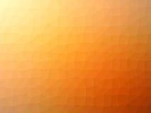 Πορτοκαλί διαμορφωμένο πολύγωνο υπόβαθρο κλίσης Στοκ Εικόνα