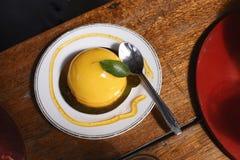 Πορτοκαλί κέικ Στοκ φωτογραφίες με δικαίωμα ελεύθερης χρήσης