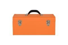 Πορτοκαλί κιβώτιο εργαλείων Στοκ φωτογραφία με δικαίωμα ελεύθερης χρήσης