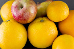Πορτοκαλί μανταρίνι της Apple Στοκ εικόνα με δικαίωμα ελεύθερης χρήσης