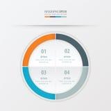 Πορτοκαλί, μπλε, γκρίζο χρώμα προτύπων παρουσίασης κύκλων Στοκ φωτογραφίες με δικαίωμα ελεύθερης χρήσης