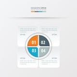 Πορτοκαλί, μπλε, γκρίζο χρώμα σχεδίου παρουσίασης ορθογωνίων Στοκ εικόνα με δικαίωμα ελεύθερης χρήσης
