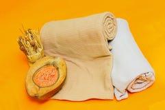 Πορτοκαλί ντεκόρ Στοκ Εικόνα
