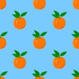 πορτοκαλί πρότυπο άνευ ρα διανυσματική απεικόνιση