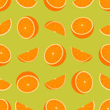 πορτοκαλί πρότυπο άνευ ρα Στοκ Εικόνες