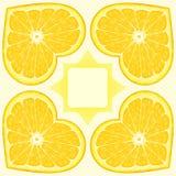 πορτοκαλί πρότυπο Στοκ Εικόνες