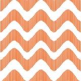 Πορτοκαλί σχέδιο κυμάτων Στοκ Φωτογραφίες