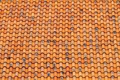 Πορτοκαλί σχέδιο στεγών Στοκ εικόνα με δικαίωμα ελεύθερης χρήσης
