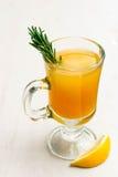 πορτοκαλί τσάι στοκ εικόνα