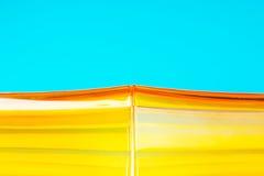 Πορτοκαλί υαλώδες αφηρημένο υπόβαθρο Στοκ εικόνες με δικαίωμα ελεύθερης χρήσης