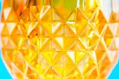 Πορτοκαλί υαλώδες υπόβαθρο patternal Στοκ Εικόνες