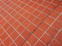 Πορτοκαλί υπόβαθρο κεραμιδιών Στοκ φωτογραφία με δικαίωμα ελεύθερης χρήσης