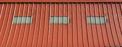 Πορτοκαλί υπόβαθρο σύστασης στεγών Στοκ φωτογραφία με δικαίωμα ελεύθερης χρήσης
