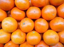 Πορτοκαλί υπόβαθρο της Ταϊλάνδης φρούτων Στοκ Φωτογραφία