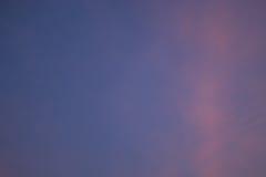 Πορτοκαλί φως βραδιού ηλιοβασιλέματος το χειμώνα Στοκ εικόνες με δικαίωμα ελεύθερης χρήσης