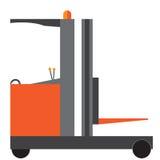 Πορτοκαλί Forklift εικονίδιο φορτηγών Στοκ Φωτογραφίες