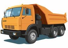 Πορτοκαλί truck απορρίψεων Στοκ φωτογραφία με δικαίωμα ελεύθερης χρήσης