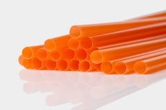 πορτοκαλιά άχυρα Στοκ φωτογραφία με δικαίωμα ελεύθερης χρήσης