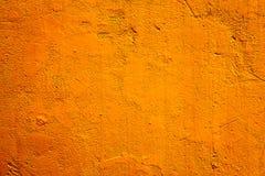 Πορτοκαλιά ανασκόπηση τοίχων Στοκ Φωτογραφία