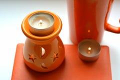 Πορτοκαλιά αντικείμενα αρωματικά Στοκ φωτογραφία με δικαίωμα ελεύθερης χρήσης