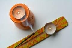 Πορτοκαλιά αντικείμενα αρωματικά Στοκ Εικόνα