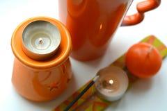 Πορτοκαλιά αντικείμενα αρωματικά Στοκ εικόνα με δικαίωμα ελεύθερης χρήσης